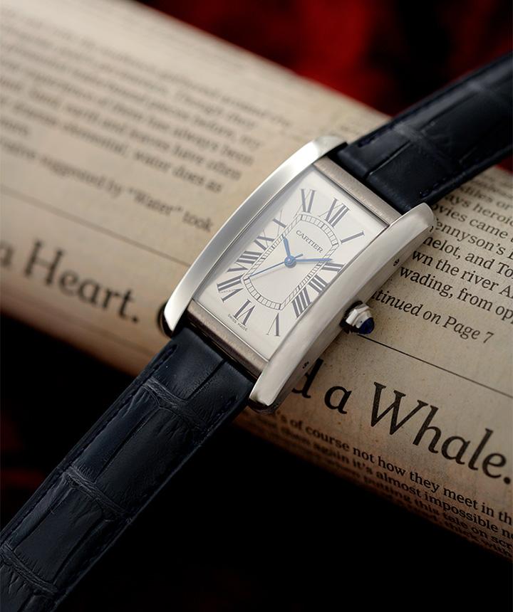 purchase cheap 996ed 9993d Cartier】カルティエのタンク アメリカンLM   ファッション ...